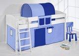 Halfhoogslaper IDA Blauw met tent_