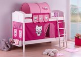 Stapelbed IDA Angel Cat Sugar met tent en lattenbodems_