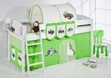 Halfhoogslaper IDA Tractor Groen met tent_
