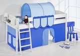 Halfhoogslaper IDA Blue met tent_