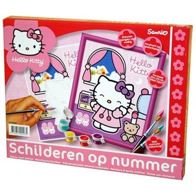 Hello Kitty Schilderen op Nummer
