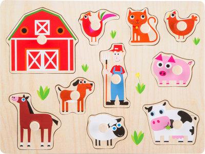 Babypuzzel Farm