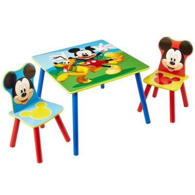 Tafeltje met 2 stoeltjes Mickey