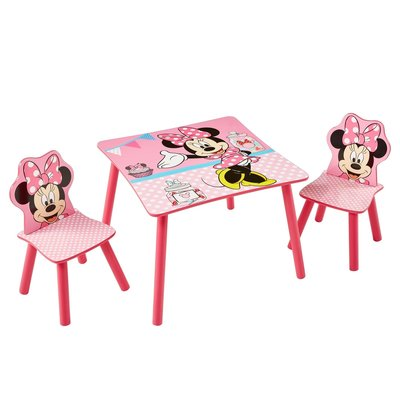 Tafeltje met 2 stoeltjes Minnie