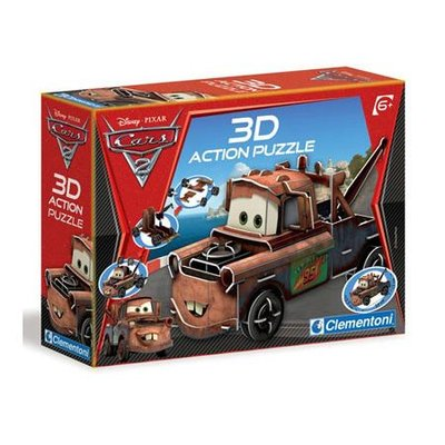 Clementoni Cars 3D Action Puzzel