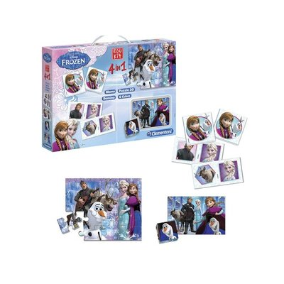Clementoni Frozen Super Kit 4in1