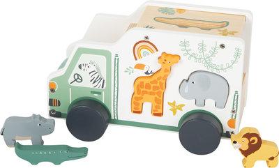 Houten Speelgoedauto Safari