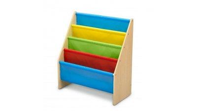 Boekenrek Multicolor