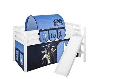 Halfhoogslaper Star Wars met tent en schuine glijbaan