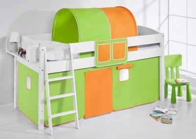 Halfhoogslaper IDA Groen oranje met tent