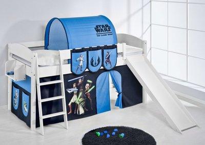Halfhoogslaper IDA Star Wars met tent en glijbaan