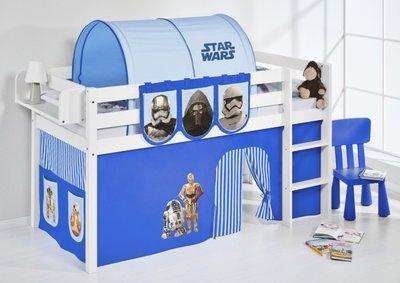 Halfhoogslaper Star Wars Blauw met tent