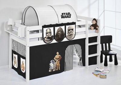 Halfhoogslaper Star Wars Zwart met tent