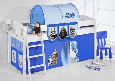 Halfhoogslaper IDA Star Wars Blauw met tent