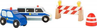 Houten Politie set