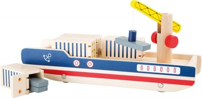 Houten Containerschip