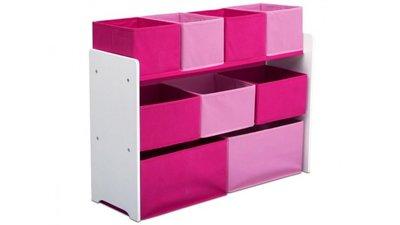 Speelgoed opbergkast Roze