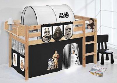 Halfhoogslaper Star Wars Zwart Blank met tent