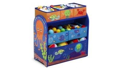 Speelgoed opbergkast Tommy Turtle