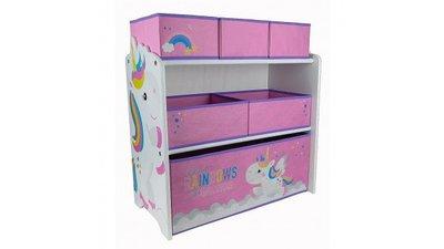 Speelgoed opbergkast Unicorn Rainbow