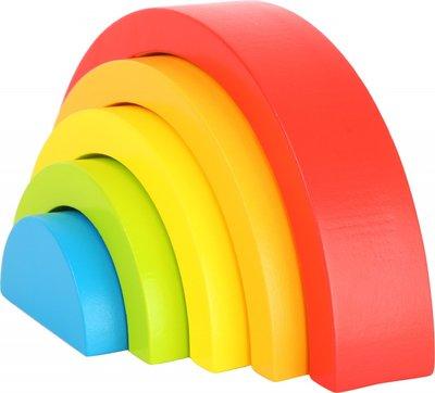 Houten Blokken Regenboog