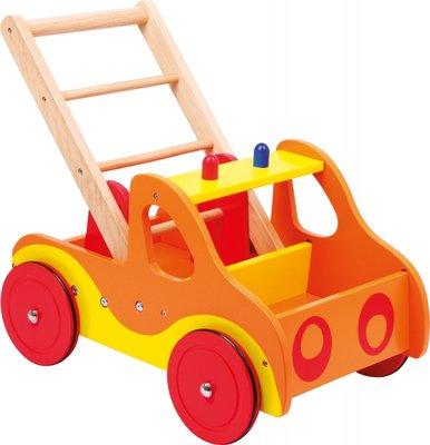 Houten Loopwagen Brandweer