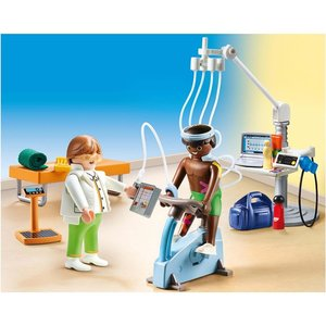 Playmobil 70195 City Life Physiotherapeut met 2 Figuren + Accessoires