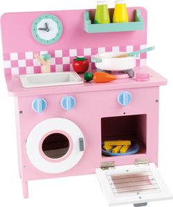 Kinderkeuken Roze