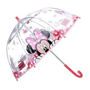 Disney Minnie Mouse Kinderparaplu 70 cm Transparant