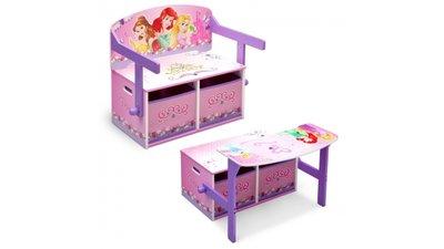 Kinderbankje 3-in-1 Princess