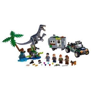 Lego Jurassic Parc 75935 Confrontatie met Baryonyx De Schattenjacht
