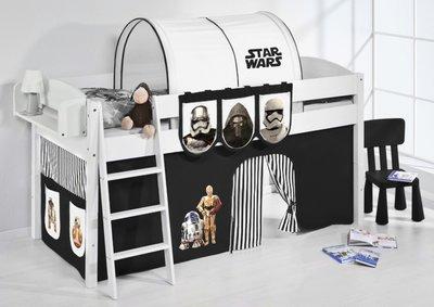 Halfhoogslaper IDA Star Wars Zwart met tent