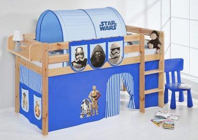 Halfhoogslaper Star Wars Blauw Blank met tent